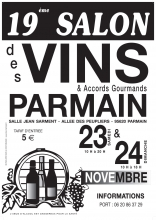 Salon « Vins et Accords Gourmands », 23 et 24 novembre 2019